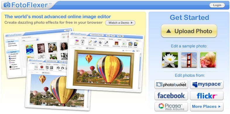 Paginas para editar fotos for Paginas para disenar
