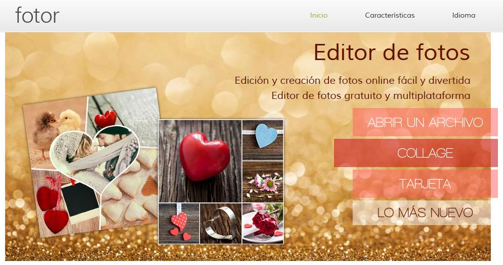Paginas para editar y retocar fotos