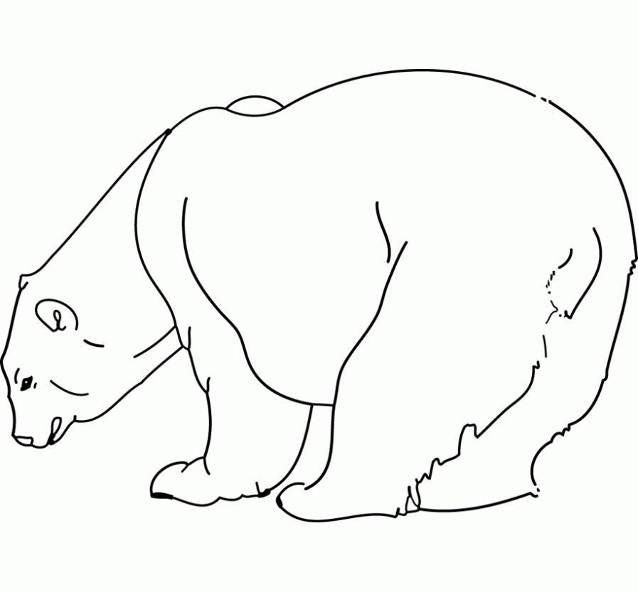 Moderno Realista Animal Lindo Para Colorear Modelo - Dibujos Para ...
