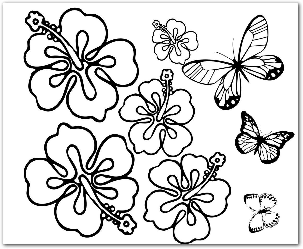 Imagenes De Flores Para Colorear Bonitas: Imagenes De Flores Para Colorear
