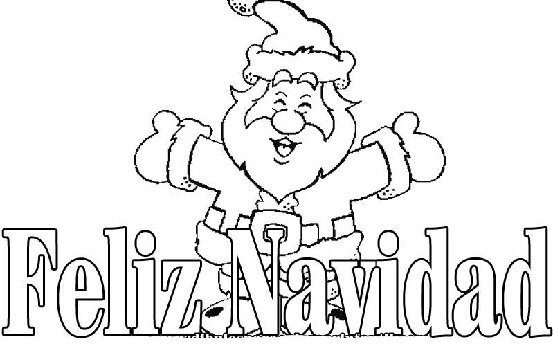 Imagenes para colorear de navidad - Dibujos de navidad para colorear gratis ...