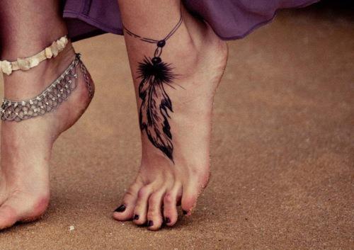 Imagenes de tatuajes para mujeres pie