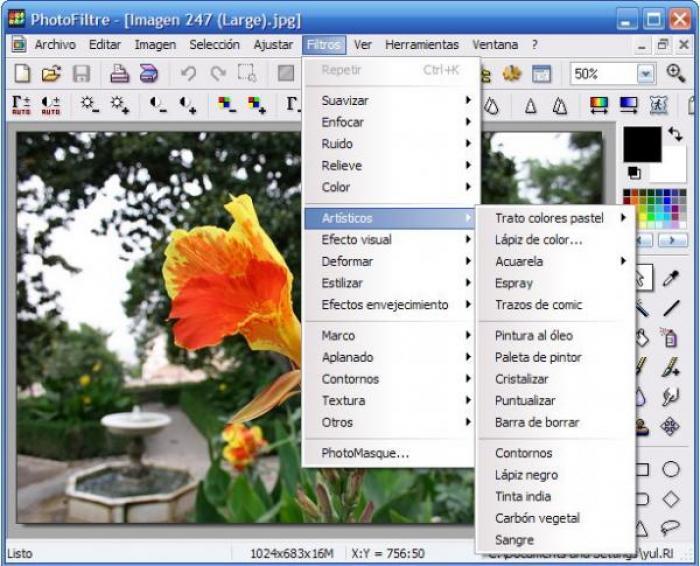 Descargar programa para editar imagenes gratis.