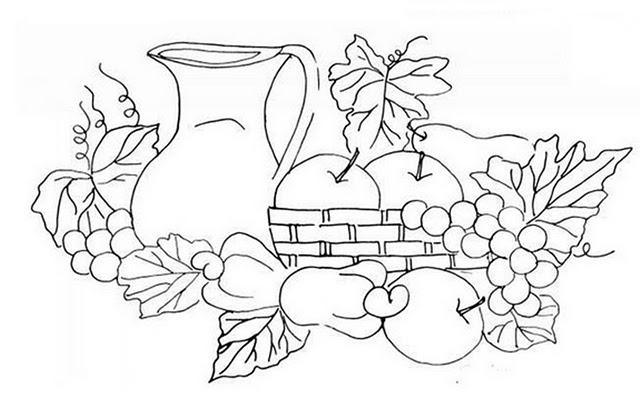 Imagenes De Frutas Para Colorear