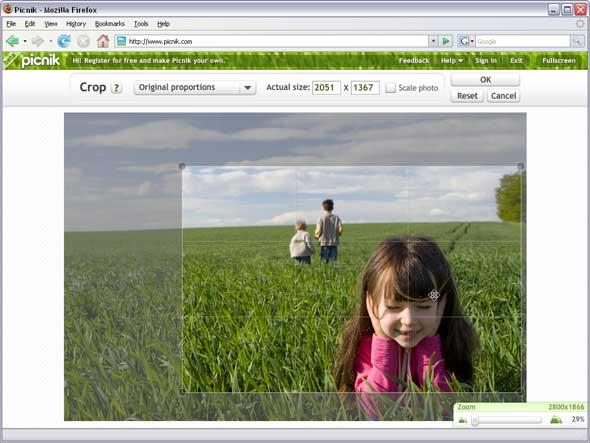 Picnik editar fotos