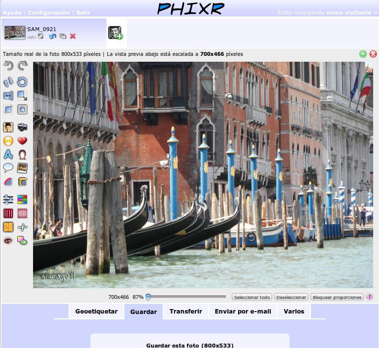 Programa online para editar fotos