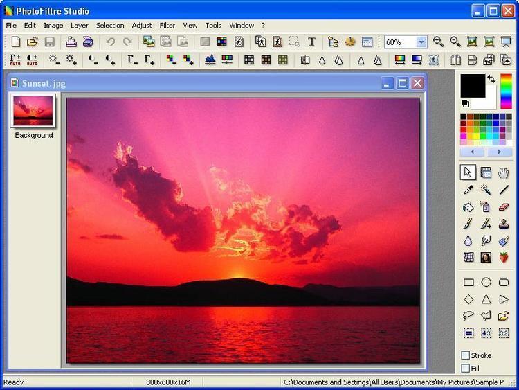 Programa para modificar fotos