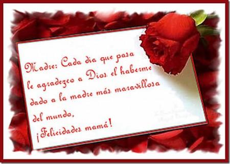 carta de amor para mamá