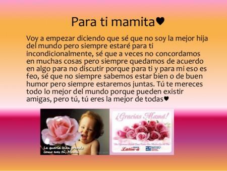 carta para mama